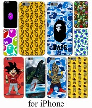 Sponge Bob Square Pants Bape Hard Case Cover for iPhone 7 7 Plus 6 6S Plus 5 5S SE 5C 4S Case Cover