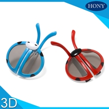 1pcs Special desgin Children Kids 3D Glasses Foldable Passive Circular Polarized 3D Glasses For Passive 3D Tvs& RealD Movie