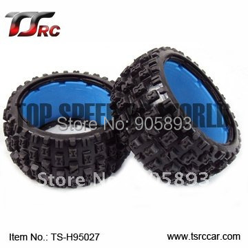 5B Rear Knobby Tire Set(TS-H95027)x 2pcs for 1/5 Baja 5B, without inner foam,wholesale and retail<br>