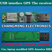 On-board computer GPS receiver/USBinterfaceGPS/Presented a MMCX external antenna /United States SIRF3 module 1PCS