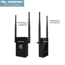 Wireless Wifi Router AP Repeater 300Mbps 750Mbps Dual Band 2.4GHZ 5GHZ Network Wi Fi Routers Signal Booster Extender WIFI Ap(China)