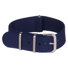 Buy 2 Get 20% OFF) 16 mm Army Navy Blue Military nato fabric Woven Nylon watchband Strap Band Buckle belt 16mm accessories