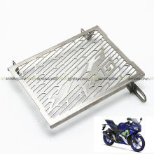 Free Shiping Stainless Steel Motorcycle Radiator Guard Radiator Cover Fits For Yamaha YZF R15 2014 2015 2016 2017(China)