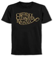 Summer 2017 Design Creedence Clearwater Revival Us Southern Rock 1970'S All Colours Crew Neck Short-Sleeve Mens T Shirts(China)
