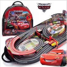 Cheap toys! Pixar Car 2 big toy car Remote control electric double track racing toy track car toy