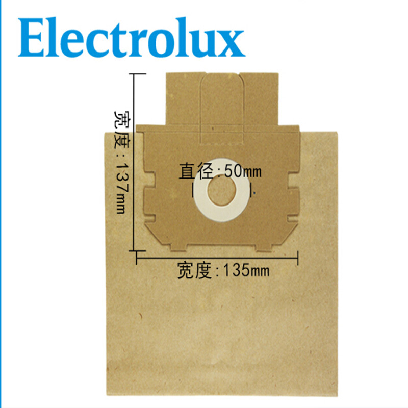 vacuum cleaner paper dust bag  fit for Electrolux Z2540 2570 2600 2630  10pcs alot  free shipping<br><br>Aliexpress