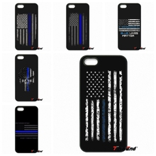 THE THIN BLUE LINE USA FLAG Print Phone Case Cover For Sony Xperia X XA XZ M2 M4 M5 C3 C4 C5 T3 E4 E5 Z Z1 Z2 Z3 Z5 Compact