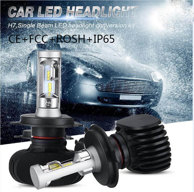 2xH4 H13 H7 H11 9005 9006 LED Car Headlight Bulbs 50W 16000LM Philips Chips CSP LED Automobiles All in one Head Lamp Front Light<br><br>Aliexpress