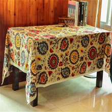 2016 hot sale 60 * 60 Sunflower Fine Linen Table Cloth wholesale beach cloth couch cover window curtain wholesale