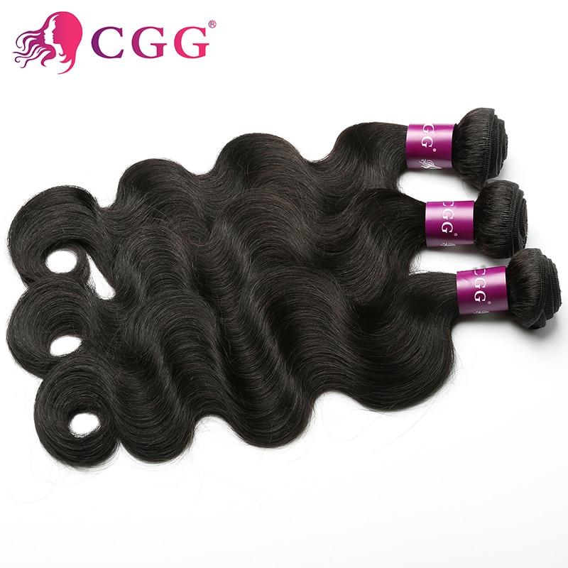 CGG Human Hair Product Peruvian Body Wave 3 Bundles 100% Unprocessed 7A Peruvian Virgin Hair Body Wave Cheap Human Hair Wefts<br><br>Aliexpress