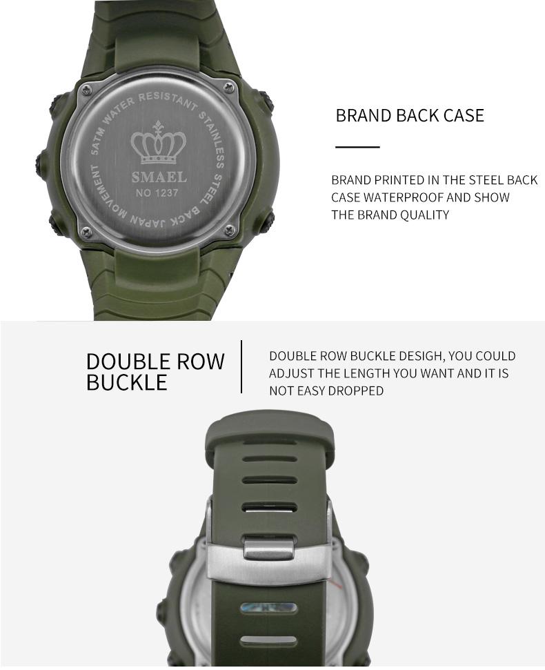 8.led watch waterproof