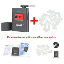 Factory Price  Professional Alcohol Tester Police Digital Alcohol Tester Breath Analyzer Breathalyzer Test LCD Detector
