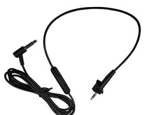 Replacement Remote Microphone Cable Extension Audio Cable Cord For BOSE AE2/AE2i/AE2w Headphones