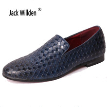 Jack Willden Italian Style Men Shoes Luxury Brand Genuine Leather Casual Driving Oxfords Shoes Mens Loafers Moccasins Party Shoe(China)