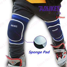 Cheap Skating Kneepad Black Thicken Sponge Kneepad Adult Youth Outdoor Basketball Badminton Knee Guard Dance Kneeling Kneepad