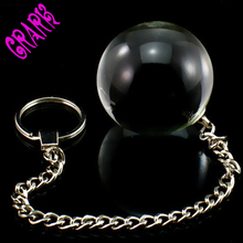 Crystal Love Ball Glass Anal Plug Ball Vaginal Tight Exerciser G-spot Privates Exercise Dumbbell sex toys for Women Masturbation
