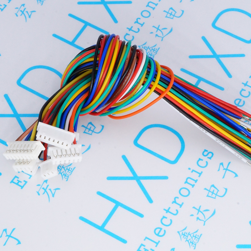 1.25 mm cable 2 p - 8 p line length 15 cm single head connecting line wafer<br>