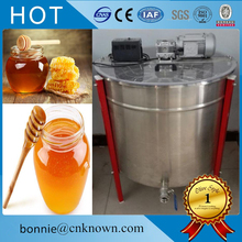 Good used quiet while operation 24 frames Electric motor radial honey extractor honey processing machine(China)