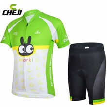 2016 CHEJI Children Boy Cycling Jersey Short Sleeve Jersey Ropa Ciclismo Bike Bicycle Clothing For Spring Summer Autumn CC0409()