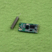 WIFI module HC-11 433 wireless to the serial port C1101 module low power microcontroller development of remote module (C6B4)