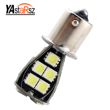 Buy 1pcs 1156 BA15S 21 SMD 5050 white CANBUS OBC error-free LED bulb p21w R5W led car light bulb car light source parking lot 12V for $1.42 in AliExpress store