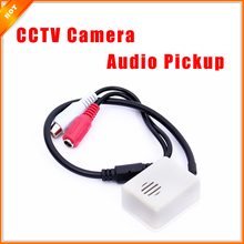 6-12V Audio Pickup Recording Surveillance Sound Monitor for CCTV Camera Mic