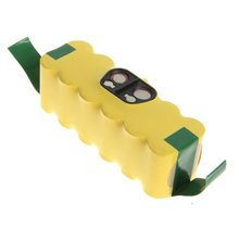 MAHA Battery 14.4V 3500mAh compatible with APS iRobot Roomba 500 510 530 532 535 540 550 560 562 570 580 610 R3 (Yellow)