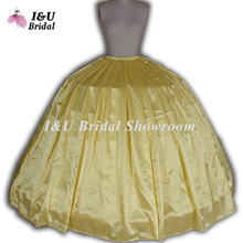 Hoop Ball Gown Wedding Dress Bridal Crinoline Plus Size Wedding Petticoat Plus Size RTP 3 Hoops Petticoats  Colored Petticoats
