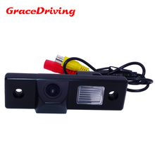 Promotion CCD Car Rear View Mirror Image CAMERA for CHEVROLET Epica/Lova/Aveo/Captiva/Lacetti/Cruze/Matiz free shipping(China)