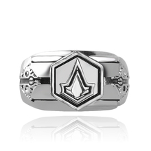 Fashion Assassins Creed Master Ring Anime Cosplay Accessories Men Anillos For Halloween gifts Shop for Promotional Ring Supplier