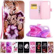 Buy PU Leather Case Aapple iPhone 8 flower Pattern Cartoon Painted back cover flip stand wallet style case iPhone 8 Trading Co.,Ltd) for $2.63 in AliExpress store