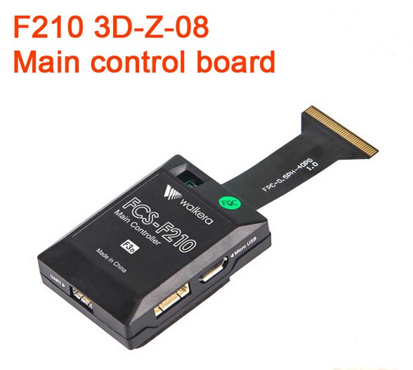 Walkera  F210 3D-Z-08 Main Control Board for F210 3D Edition Racing Drone RC Multicopter Part F18863<br>