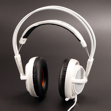 Steelseries Siberia V2 200 White Gaming Headphone Noise Isolating Game Headphones Headset for Gamer