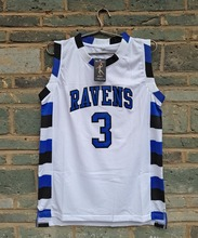 LIANZEXIN Number 3 The film version of One Tree Hill Lucas Scott Need double stitched basketball jerseys White for Men