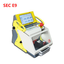 Best automatic key cutting machine SEC-E9 portable smart duplicate car key cutting machine SEC E9 Multi-Language version