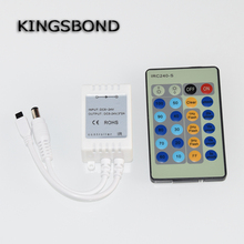 24 Keys Buttons DC 5V-24V 3*2A IR Infrared Wireless Remote Controller Dimmer for Single Color 3528 5050 LED Strip Lights(China)