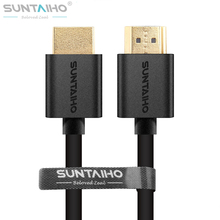 Suntaiho High speed Gold Plated Plug Male-Male HDMI Cable 1.4 Nylon 1080p 3D 1M/2M/3M/5M/10M for HDTV XBOX PS3  TV BOX