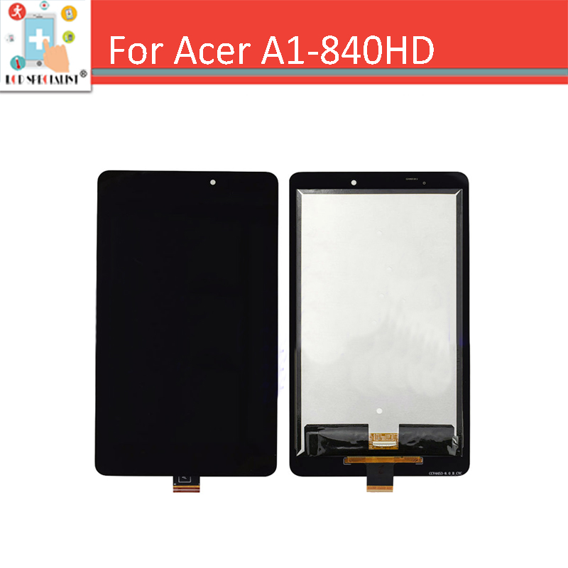 For Acer Iconia Tab 8 A1-840HD A1 840HD 840FHD Full LCD Display with Touch Screen Digitizer Glass Assembly - Version B<br><br>Aliexpress