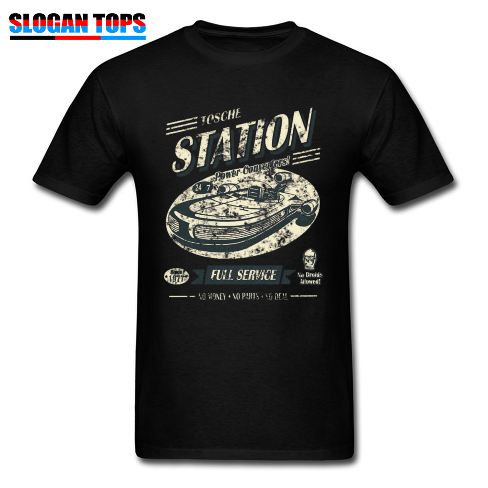 Tops Tees Tosche Station A Labor Day Fitted Leisure Short Sleeve 100% Cotton Round Neck Men T Shirts Leisure Tee Shirt Tosche Station A black