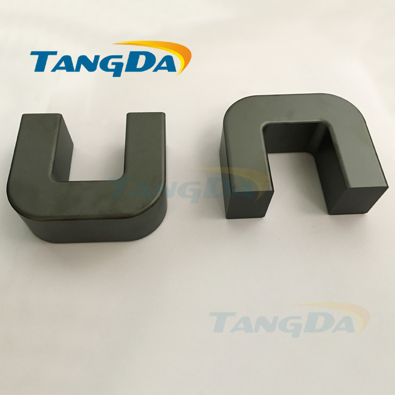 Tangda U type Soft ferrite core 80*64*31mm UU80 UF80 PC40 electricity Welding machine ultrasonic high power 80 64 31 A.<br>