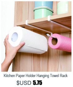 Kitchen Paper Holder Hanging Tissue Towel Rack