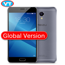 "Original Meizu M5 Note Global Version 3GB RAM 16GB ROM 2.5D Glass 4G LTE Cell Phone Helio P10 Octa Core 5.5"" FHD Fingerprint(China)"