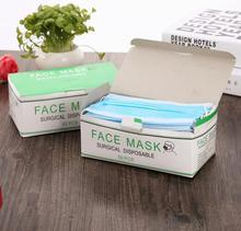 50 pcs Nail Medical disposable Ear_loop  3 layers high quality mask  face  Hot Selling Surgical Mask Respirator