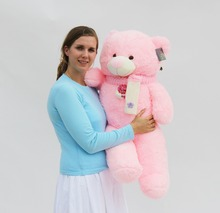 "Joyfay Big 39"" 100cm Pink Teddy Bear Stuffed Plush Toy Best Valentine's gift for Girlfriend Lovers Christmas Mother's Day(China)"