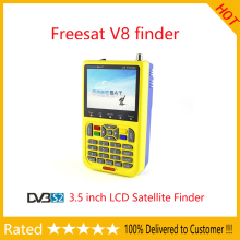 FREESAT V8 Finder Satellite signal Finder V-71 HD DVB-S2 MPEG-2/MPEG-4 FTA Digital Satellite meter 3.5 inch LCD Display satlink