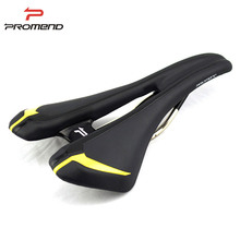 285g 0 Pressure Middle Hollow Cr-Mo Rails Road Bicycle Saddle Seat Comfortable Cycling Saddle Bike Parts Seats Almofadas Cushion