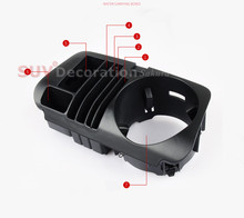 for Mercedes-Benz GLC Class X253 2015 2016 2017 Accessories Interior Car Water Cup holder storage box Replacement parts !!(China)