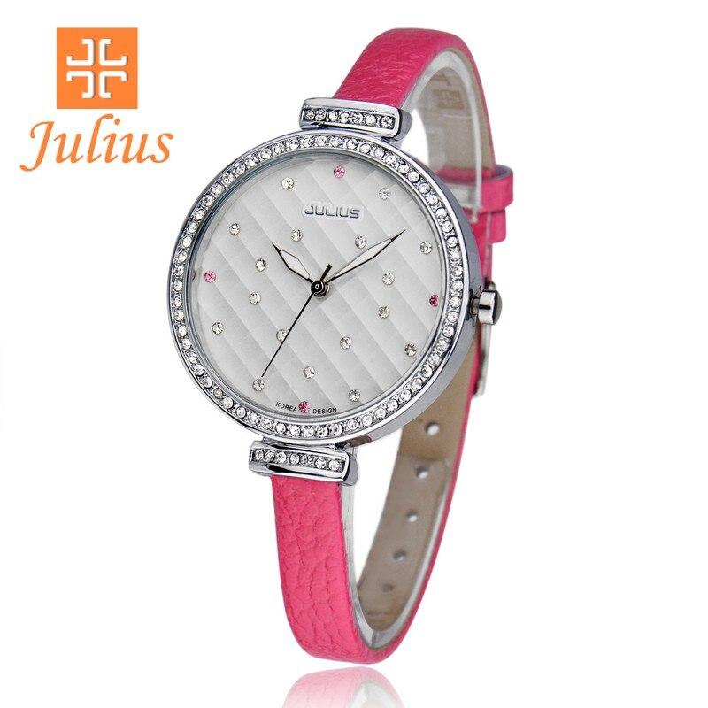 Woman Ladys Wrist Watch Japan Quartz Hours Fine Fashion Dress Bracelet Leather Girl Birthday Gift Original Box JA-541<br><br>Aliexpress