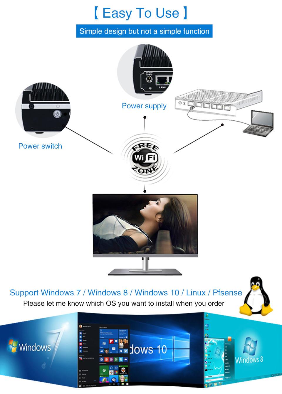 pfsense Mini PC