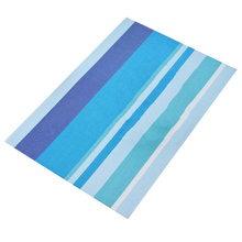 Home Dinning Mat Blue Table Decoration Waterproof PVC Plastic Non-slip Mats Cup Pad 1Pc Free Shipping